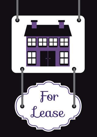 lease: house for lease board