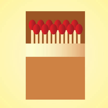 matchsticks in matchbox