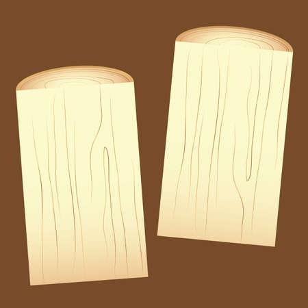 logs: wooden logs