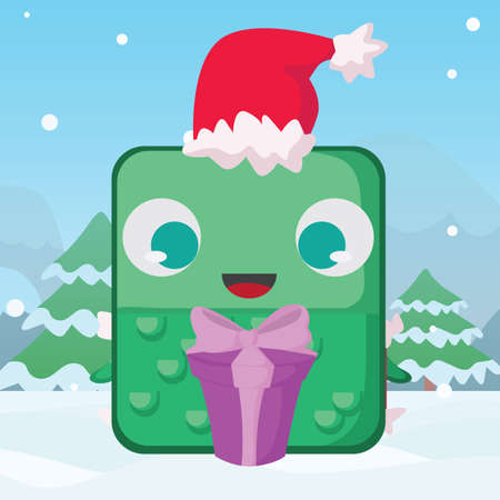 reptile: reptile with gift box