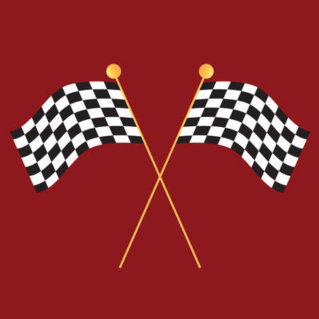 checker flag: racing checkered flags