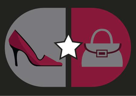 footwear: womans footwear and handbag