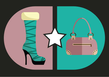 footgear: womans footwear and handbag
