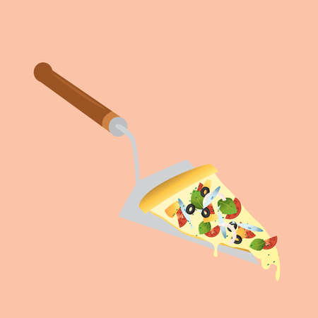 slice: pizza slice on the server