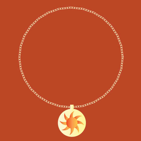 pendant: necklace with pendant