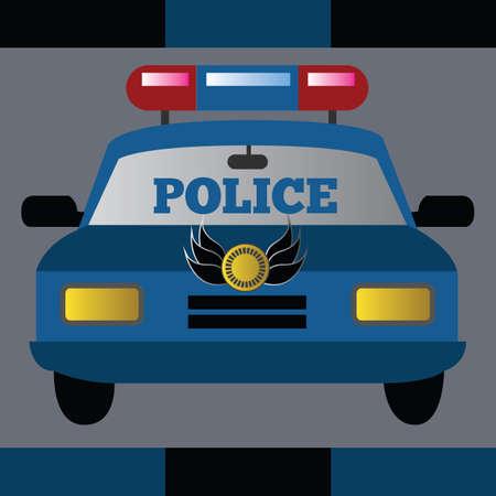 cops: police car