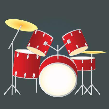 drums: drums Illustration