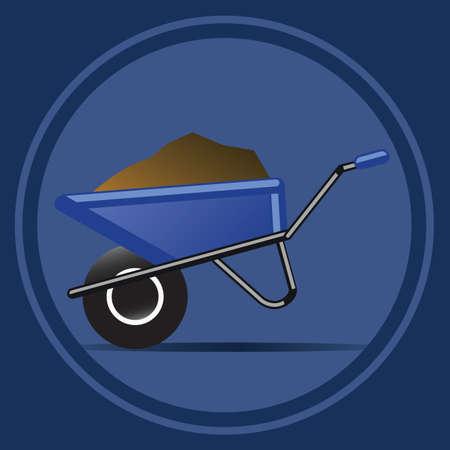 wheelbarrow: wheelbarrow Illustration