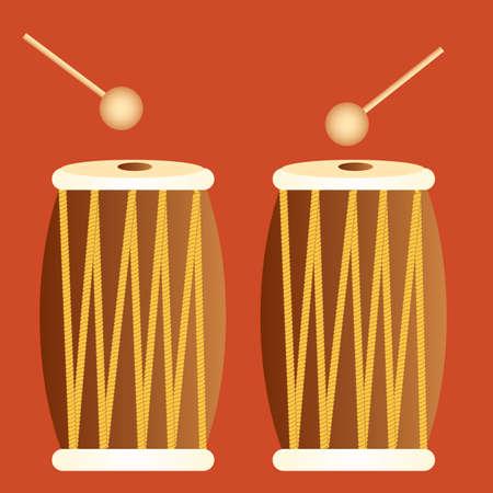 drums: tribal drums
