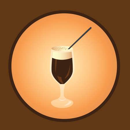 iced: iced coffee