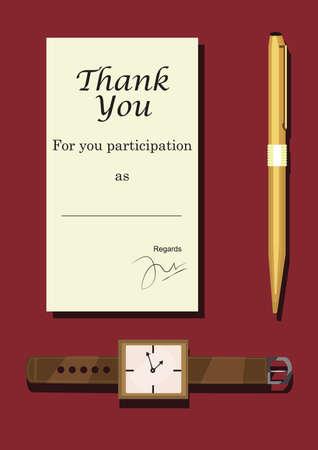 participation: certificates for participation