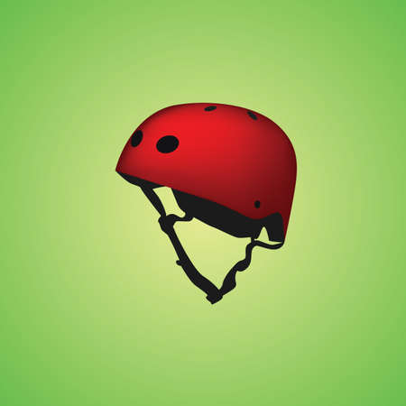 motorist: helmet Illustration