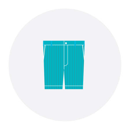 short: blue short