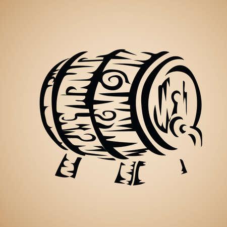 beers: beer barrel icon