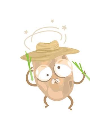 dizzy: potato feeling dizzy