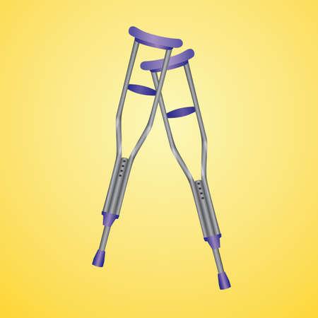 crutches: crutches