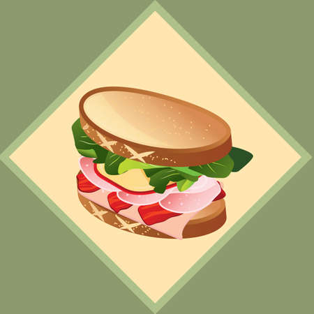 nourishing: sandwich