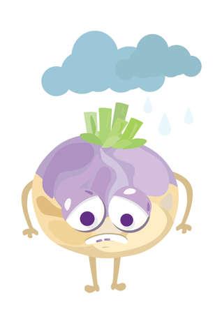 turnip: upset turnip