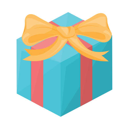 gift box Illusztráció