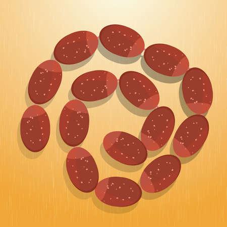 sausages: sausages