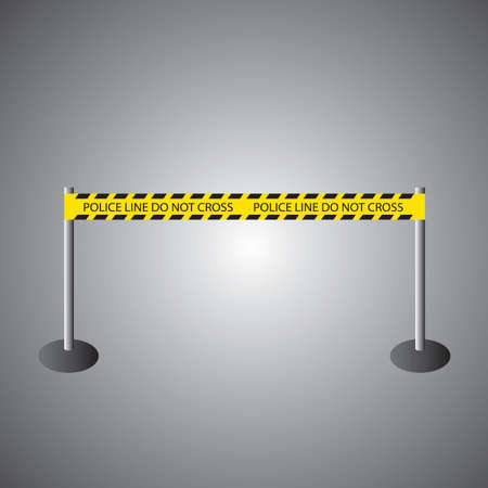 barrier: road barrier Illustration