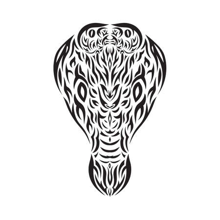 tattoo design: cobra tattoo design