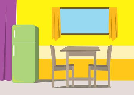 dining room: dining room Illustration