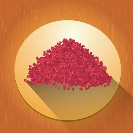 ミンチ肉  イラスト・ベクター素材
