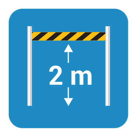 vehicles height limit board