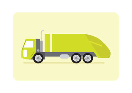 garbage truck: garbage truck