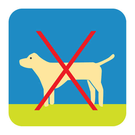 allowed: dogs not allowed