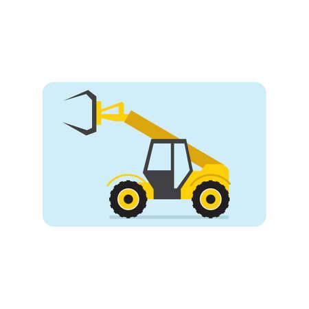 heavy vehicle: heavy construction vehicle