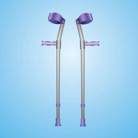 forearm: forearm crutches