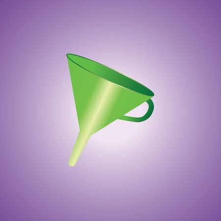 funnel: oil funnel