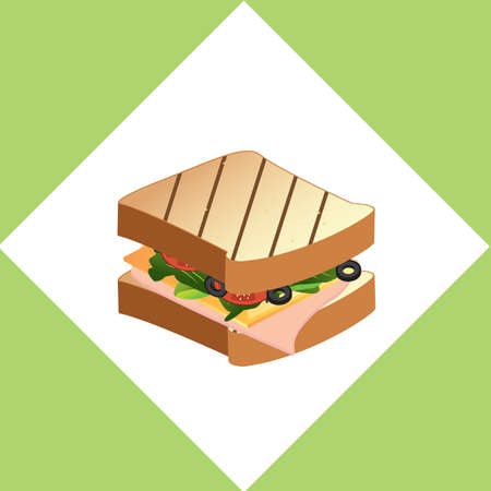 nourishment: sandwich