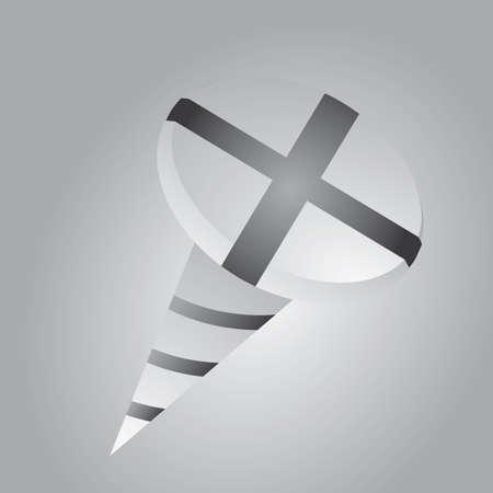metal fastener: screw