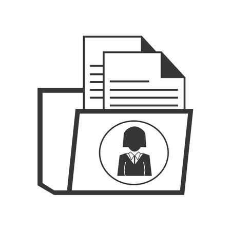 formal attire: documents inside a folder