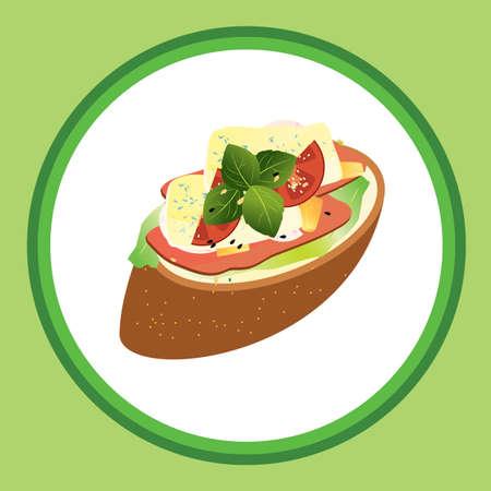 toasted: bruschetta