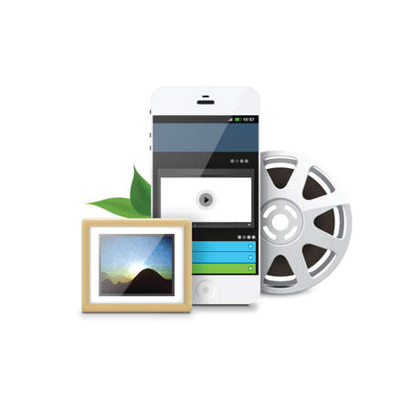 rim: smartphone with rim and photo frame
