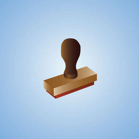 rubber: rubber stamp