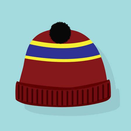 winter hat: winter hat Illustration