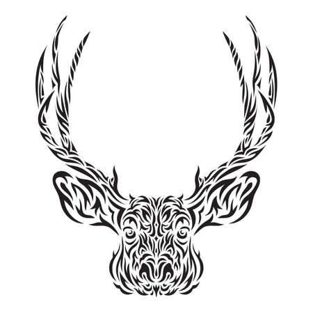 tattoo design: reindeer tattoo design