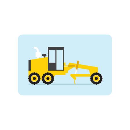 construction vehicle: construction clean vehicle Illustration