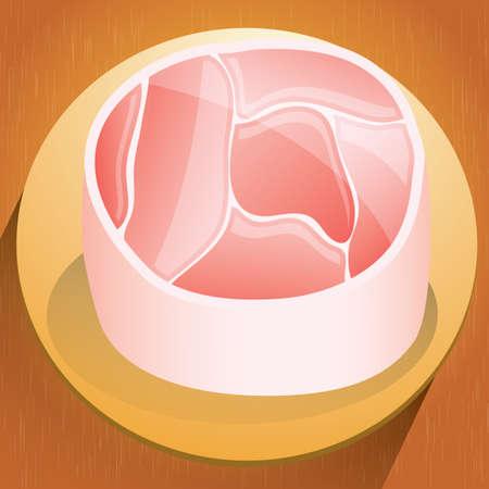 beefsteak: beefsteak Illustration