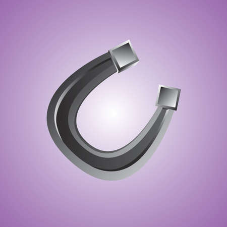 metal: metal horseshoe