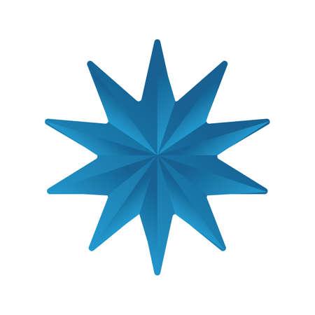 multiple: multiple point star Illustration