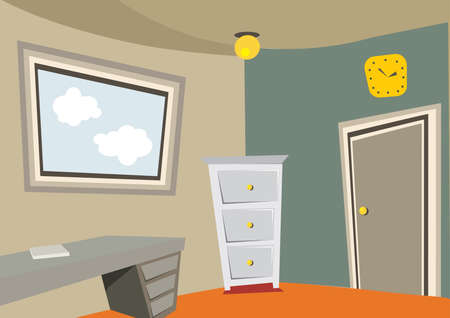 cupboards: office room