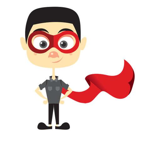 cartoon: superhero cartoon