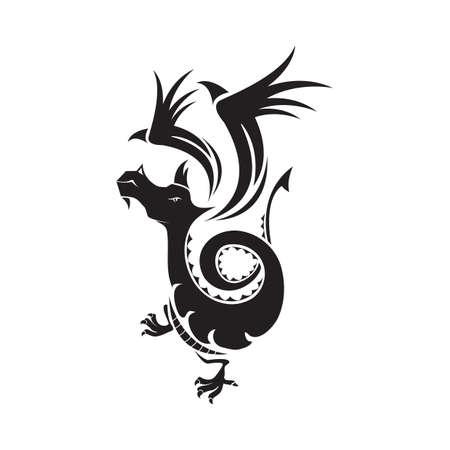 dragon: dragon pattern