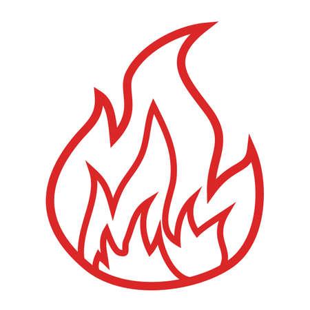 flame: flame Illustration